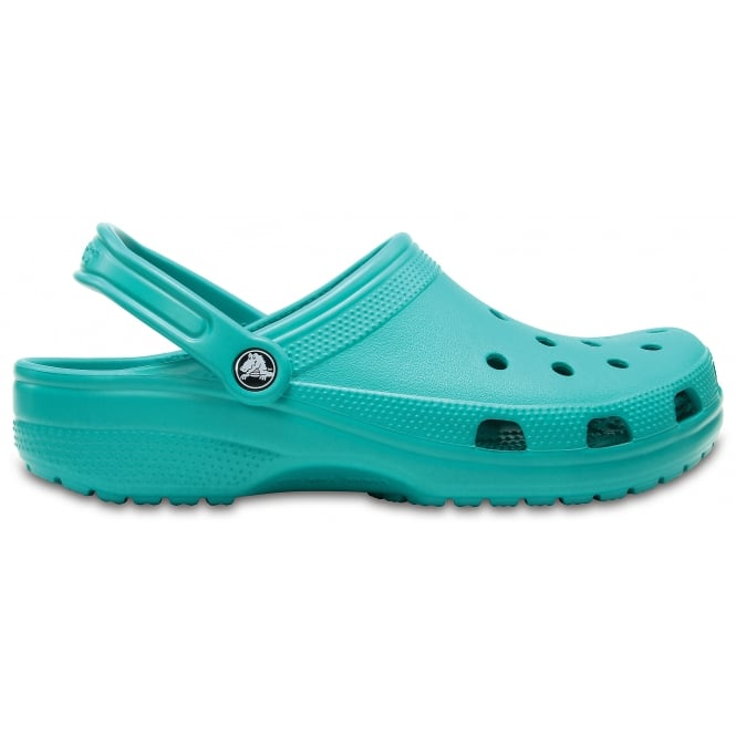 Crocs Classic Shoe Tropical Teal, Original slip on shoe