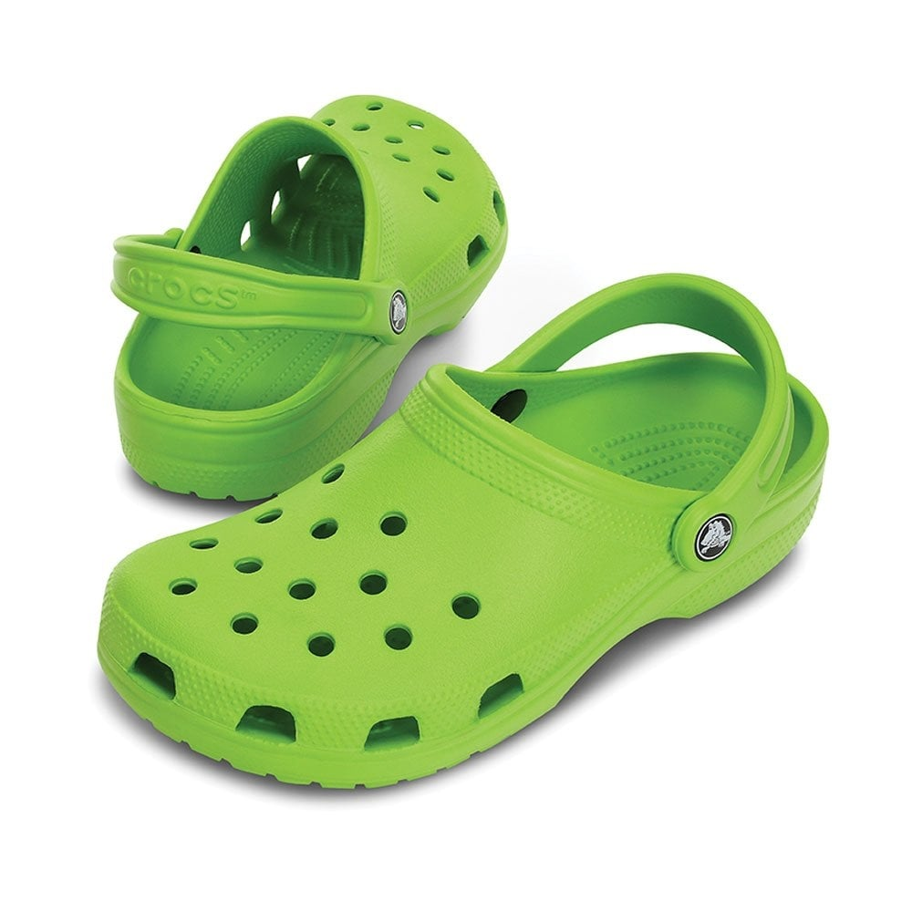 236befdfe74623 Crocs Classic Shoe Volt Green