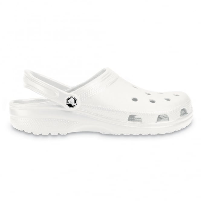 Crocs Classic Shoe White, Original slip on shoe