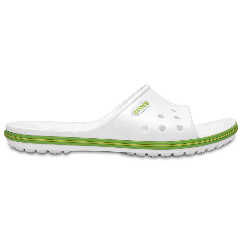 03e82d799 Crocs Crocband II Slide white Volt