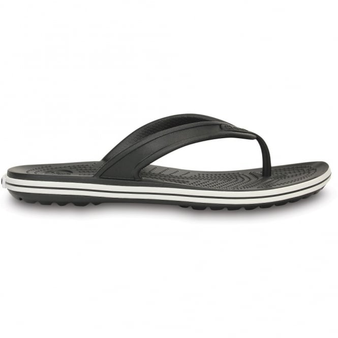 Crocs Crocband LoPro Flip Black, comfort with streamlined profile
