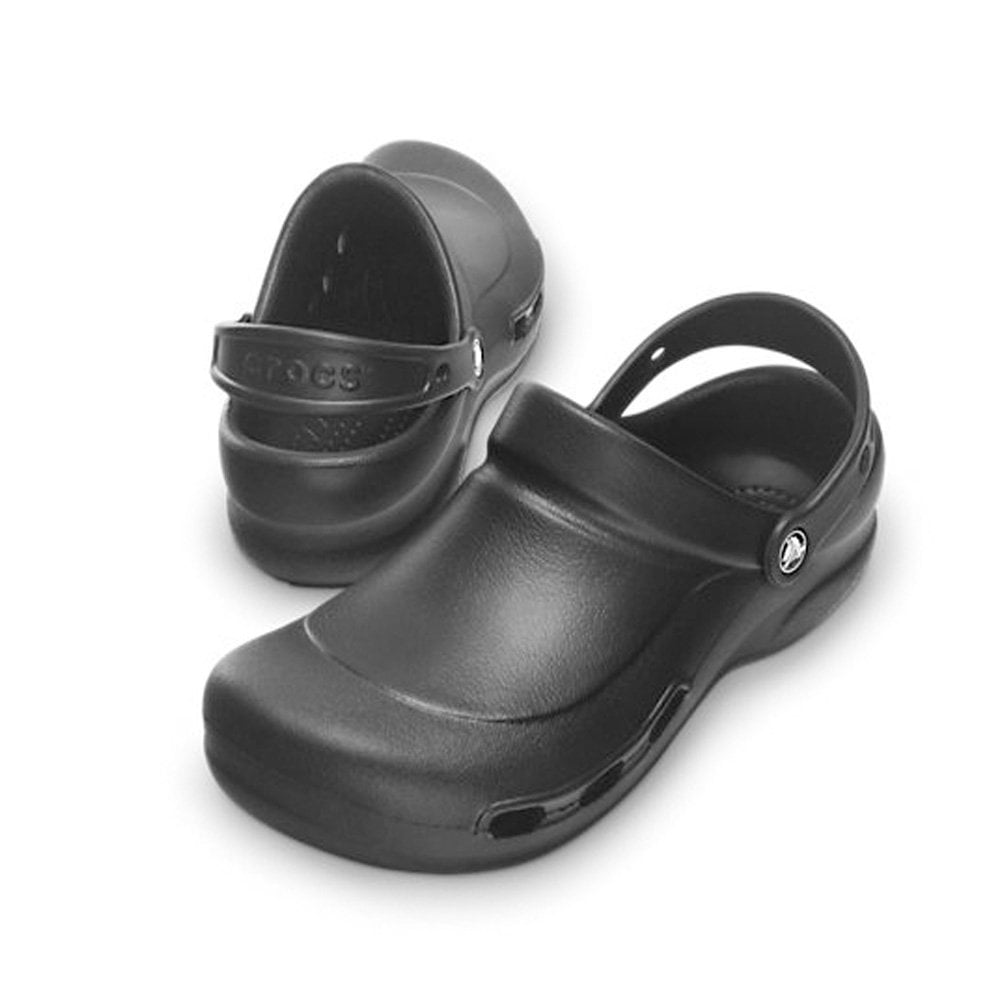 wykwintny styl ogromny wybór Hurt Crocs Bistro Vent work clog Black, non slip sole with side ventilation ports