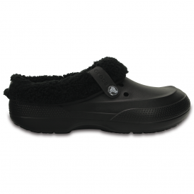 Blitzen II Clog Black/Black, easy to remove liner