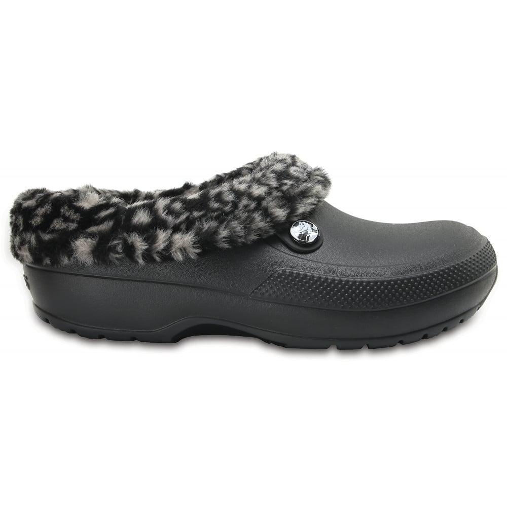 e1ba715857e0 Crocs Blitzen III Animal Print Black Tumbleweed - Women from Jellyegg UK