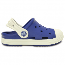 Bump It Clog Cerulean Blue/Oyster, vintage sneaker inspired single sized clog