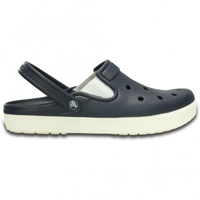 Crocs Citilane Clog Navy/White, a slender version of the Classic and Crocband Clog for a more taylored fit