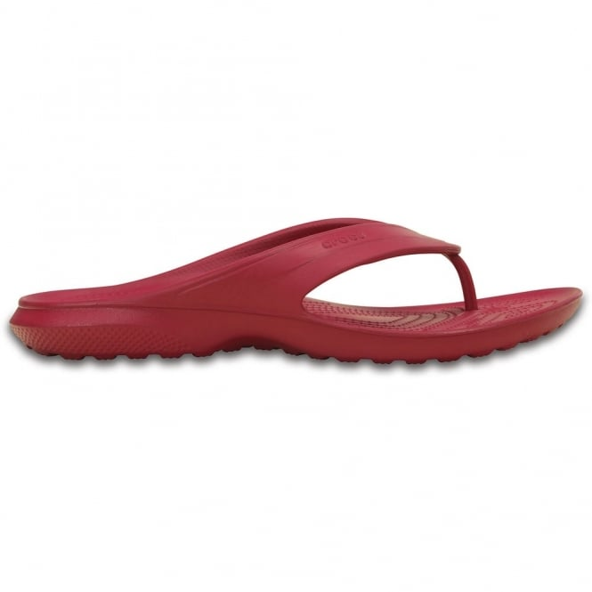 Crocs Classic Flip Pomegranate, all the comfort of the Classic Clog but in a flip