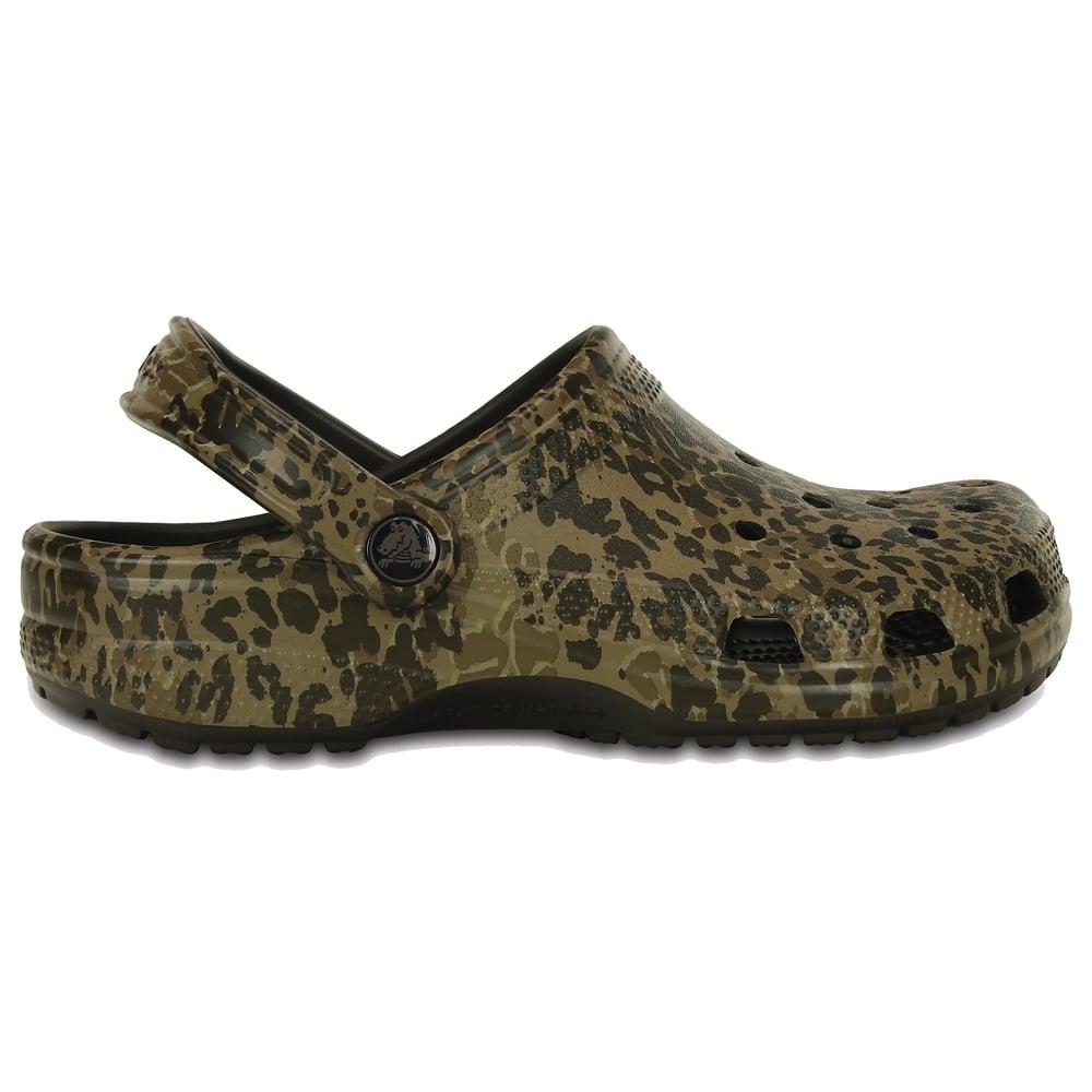 e26ac22a6835 Crocs Classic Leopard II Clog