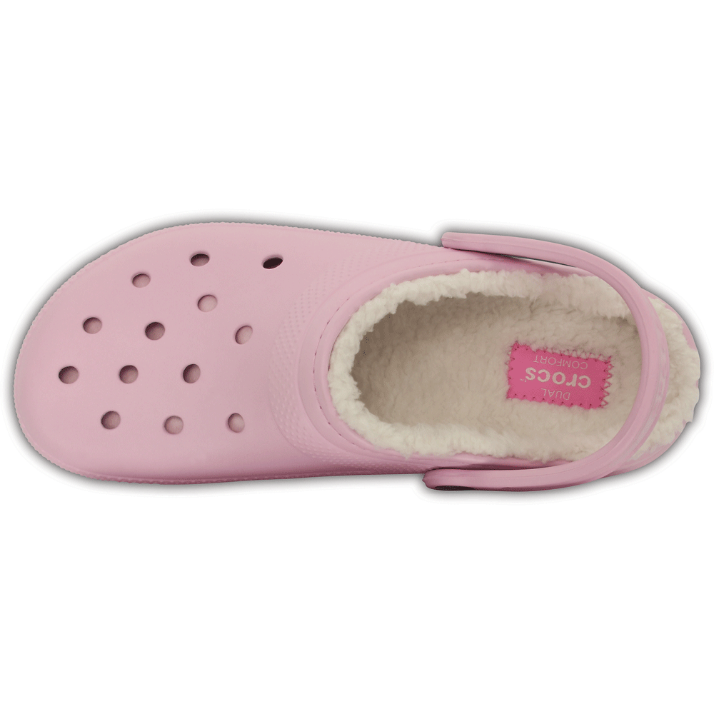 89ee5321c6bb3 Classic Lined Clog Ballerina Pink/Oatmeal, the Classic Clog but with a warm  fuzzy