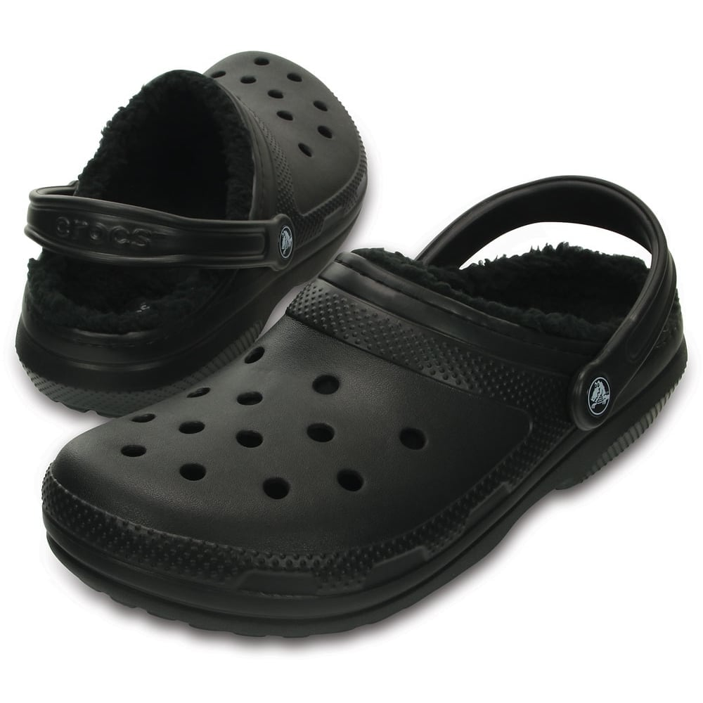 31cca27c73dc2 Classic Lined Clog Black/Black, the Classic Clog but with a warm fuzzy  lining