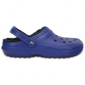 Classic Lined Clog Cerulean Blue/Navy, the Classic Clog but with a warm fuzzy lining