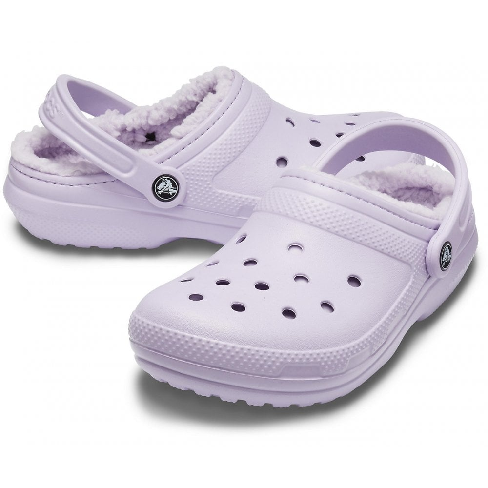Crocs Classic Lined Clog Lavender, the