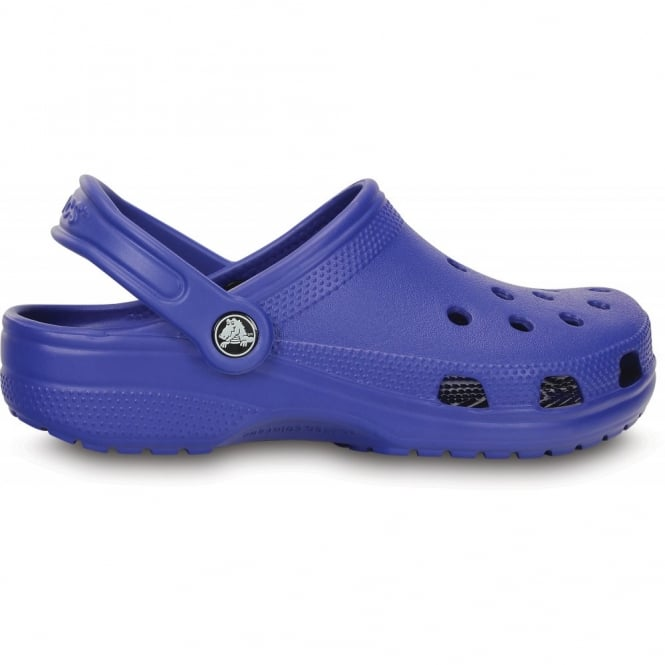 Crocs Classic Shoe Cerulean Blue, Original slip on shoe