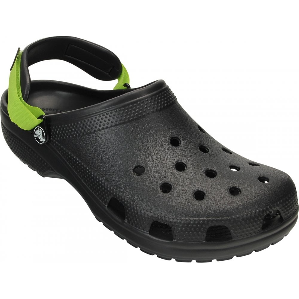 Crocs Classic Turbo Strap Clog Black