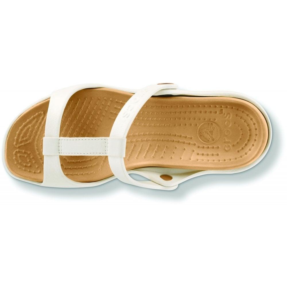 159da22f5b4a Crocs Cleo III Oyster Gold