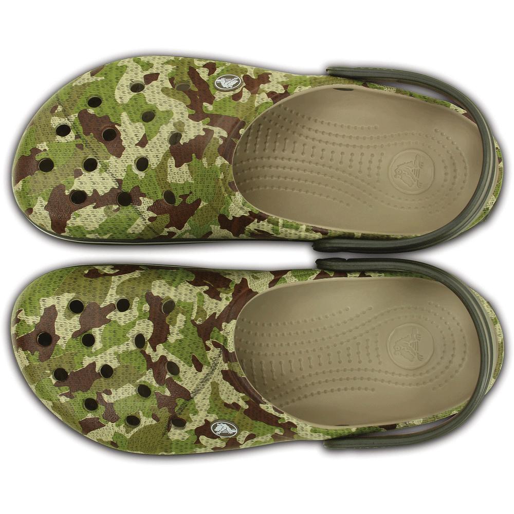 79071a84c Crocs Crocband Camo Clog Dusty Olive