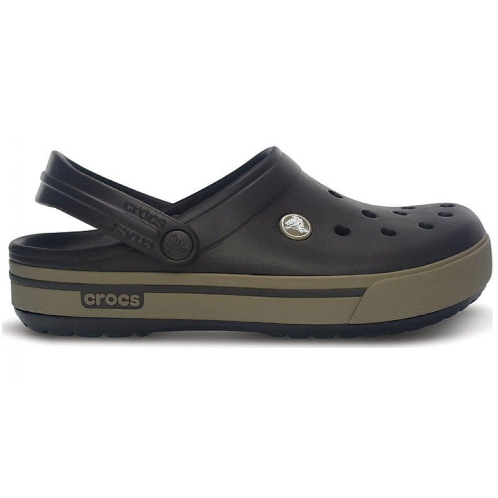 najlepsze podejście Pierwsze spojrzenie super słodki Crocs Crocband II.5 Clog Espresso/Khaki, Retro styled slip on croslite shoe