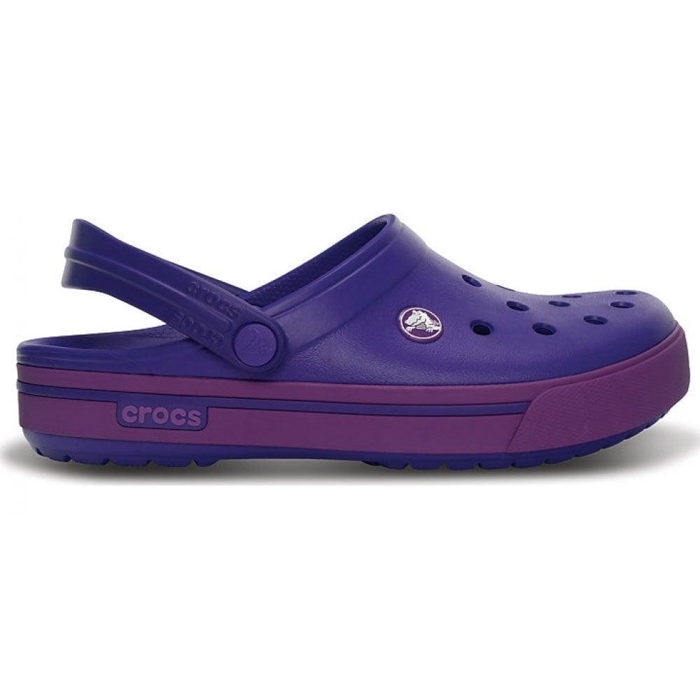 Crocs Crocband II.5 Clog Ultraviolet/Dahlia Retro stlyed slip on croslite shoe