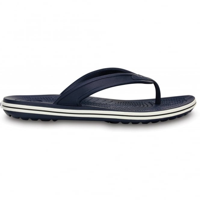Crocs Crocband LoPro Flip Navy, comfort with streamlined profile