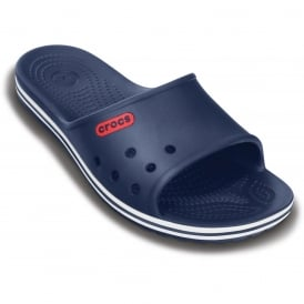Crocband LoPro Slide Navy, streamlined and lower profile slip on