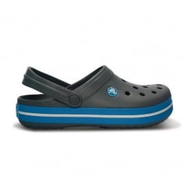 Crocband Shoe Charcoal/Ocean, All the comfort of a Classic but with a Retro look