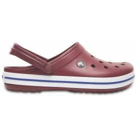 Crocband Shoe Garnet, All the comfort of a Classic but with a Retro look