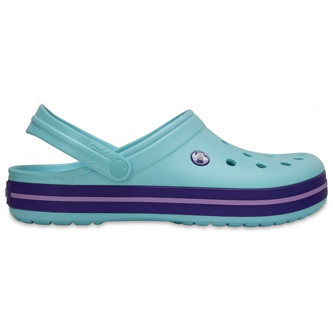 Crocs Crocband Shoe Ice Blue, All the comfort of a Classic but with a Retro look