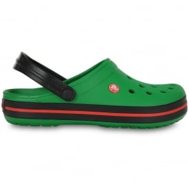 Crocband Shoe Kelly Green/Black, All the comfort of a Classic but with a Retro look