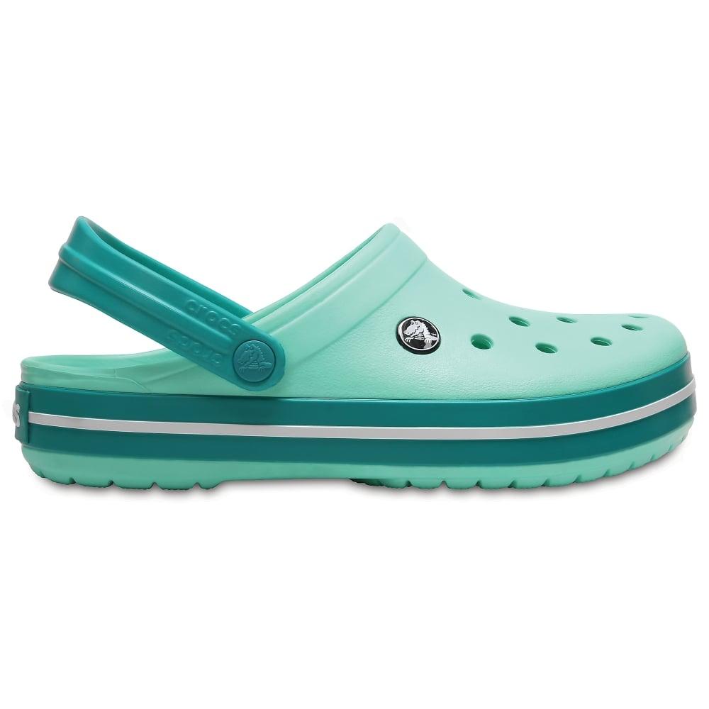 c3476080d54a6 Crocs Crocband Shoe New Mint Tropical Teal - Women from Jellyegg UK