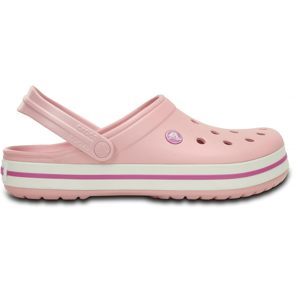 Crocband Shoe Pearl Pink/Wild Orchid, All the comfort of a Classic but with