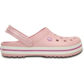 Crocband Shoe Pearl Pink/Wild Orchid, All the comfort of a Classic but with a Retro look