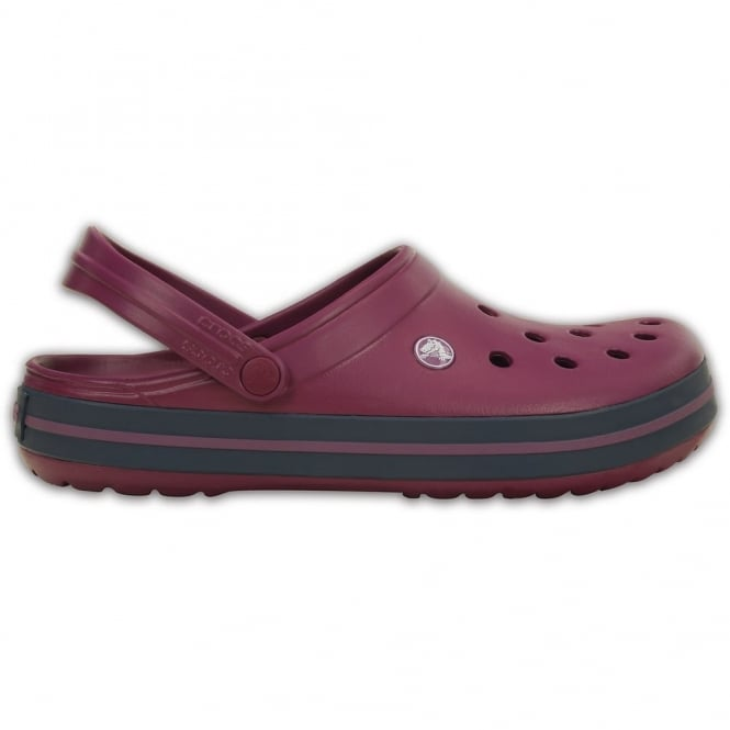 Crocs Crocband Shoe Plum/Navy, All the comfort of a Classic but with a Retro look