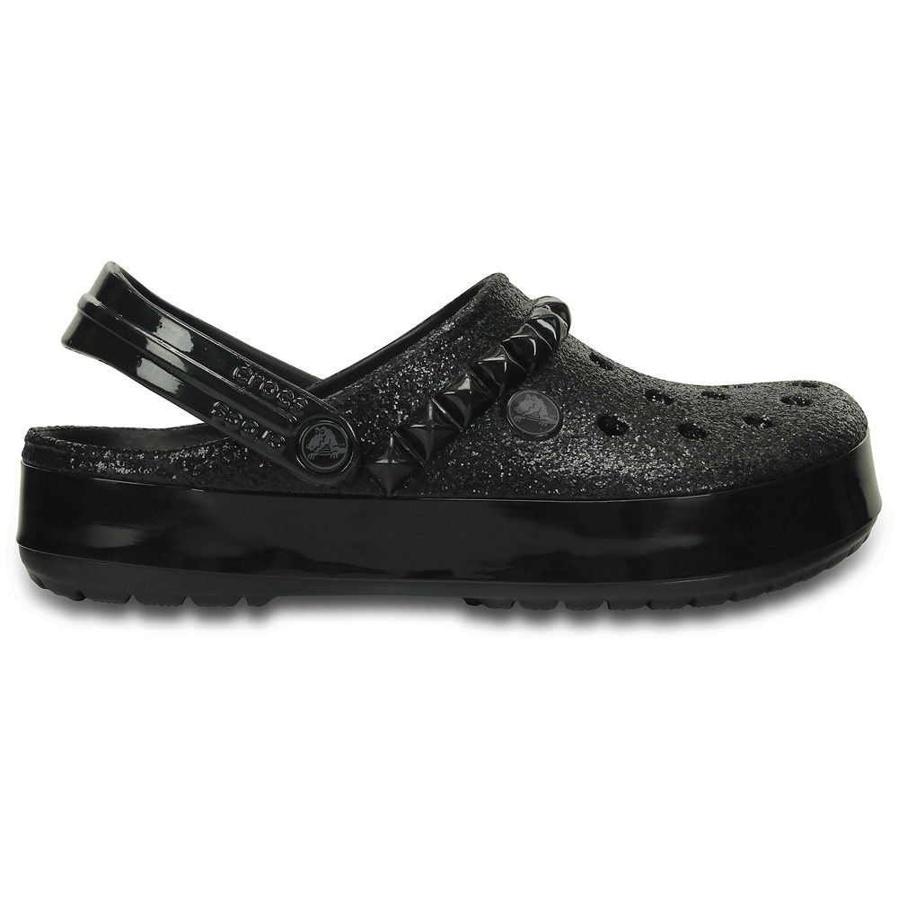 Crocs Crocband Studded Clog Black, an