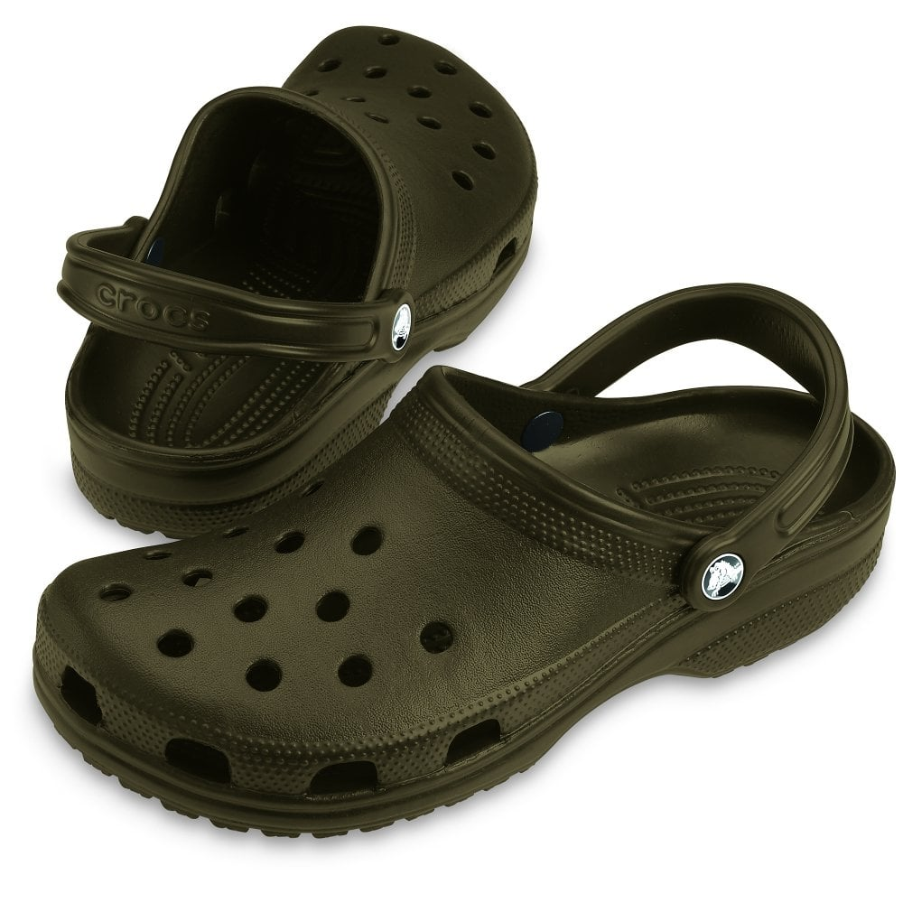 0541bc2fed89cc Crocs Classic Size 17 Chocolate - Men from Jellyegg UK