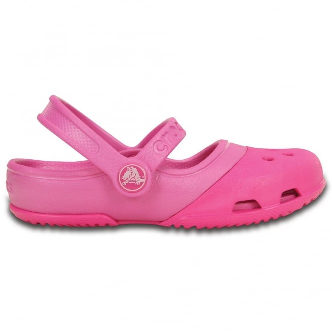 Crocs Electro II Mary Jane Neon Magenta/Party Pink, the new colour combination mary jane