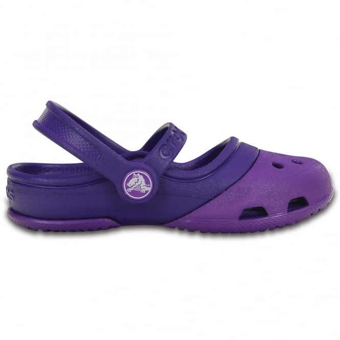 Crocs Electro II Mary Jane Neon Purple/Ultraviolet, the new colour combination mary jane