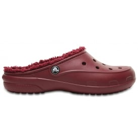 Freesail Plush Lined Clog Garnet, slimmer sleeker for a more feminine shape