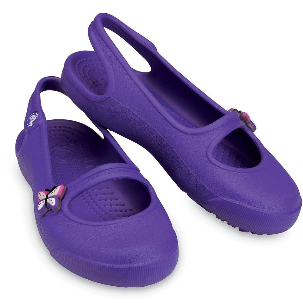 2d6f763cd Crocs Girls Gabby Ultraviolet