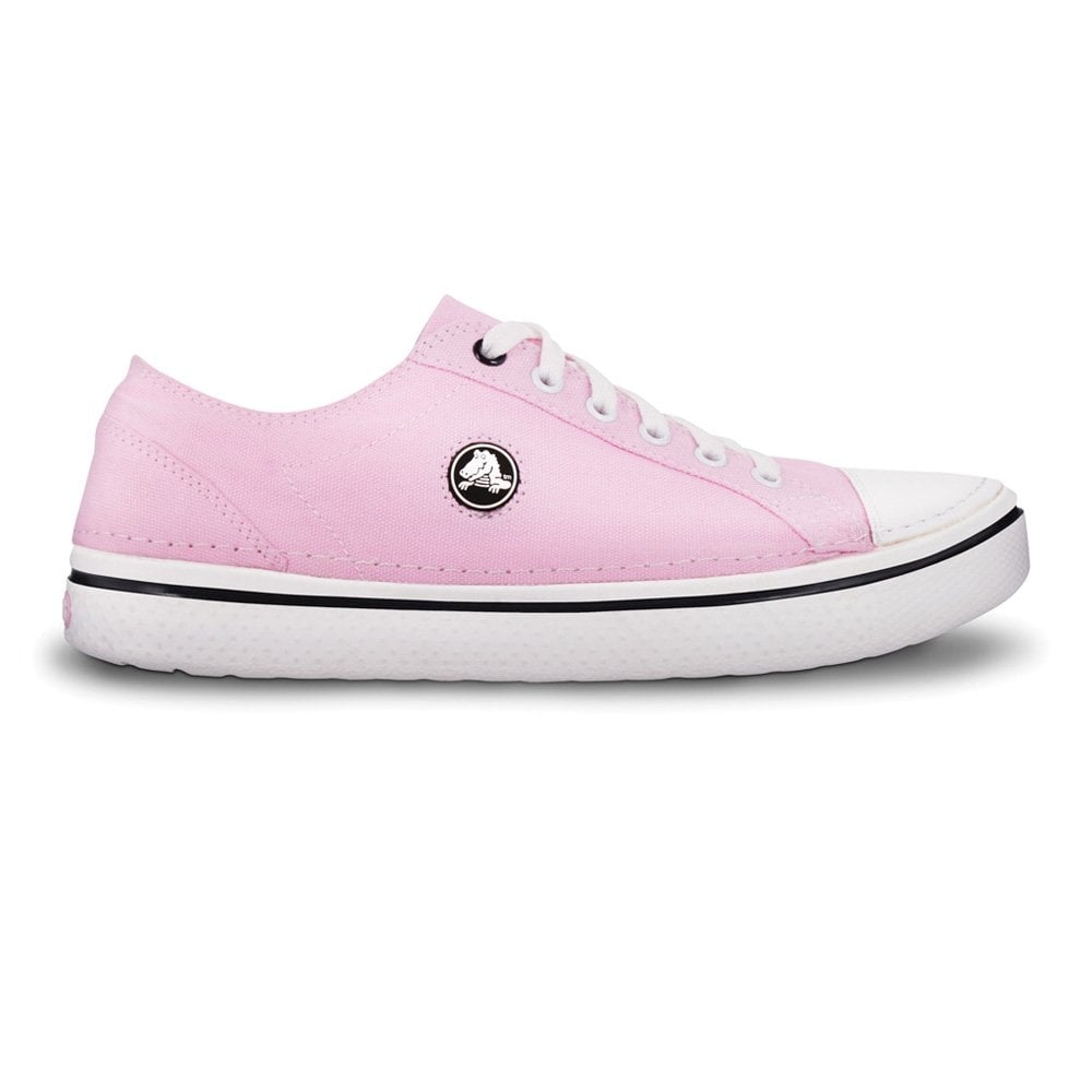 Crocs Hover Lace Up shoe Bubblegum White fe309d4d131