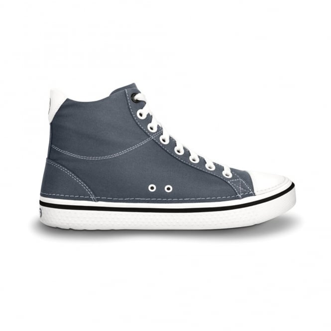 Crocs Hover Mid Charcoal, Casual hi-top trainer style shoes, with comfortable Croslite footbed and washabe canvas upper
