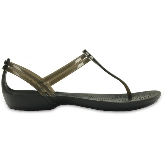 Crocs Isabella T Strap Flip Black, A Fresh light flip sandal