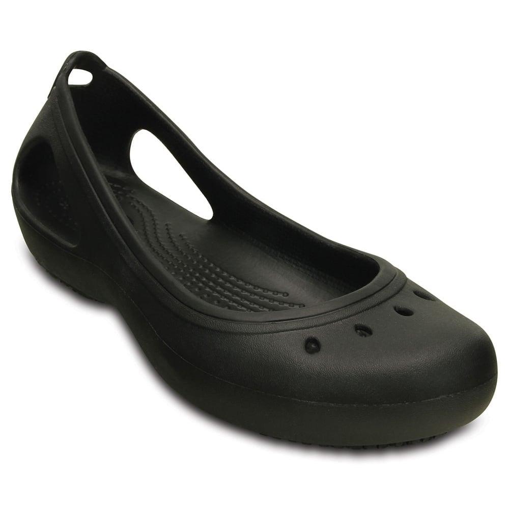 Crocs Kadee Work Flat Black, non slip