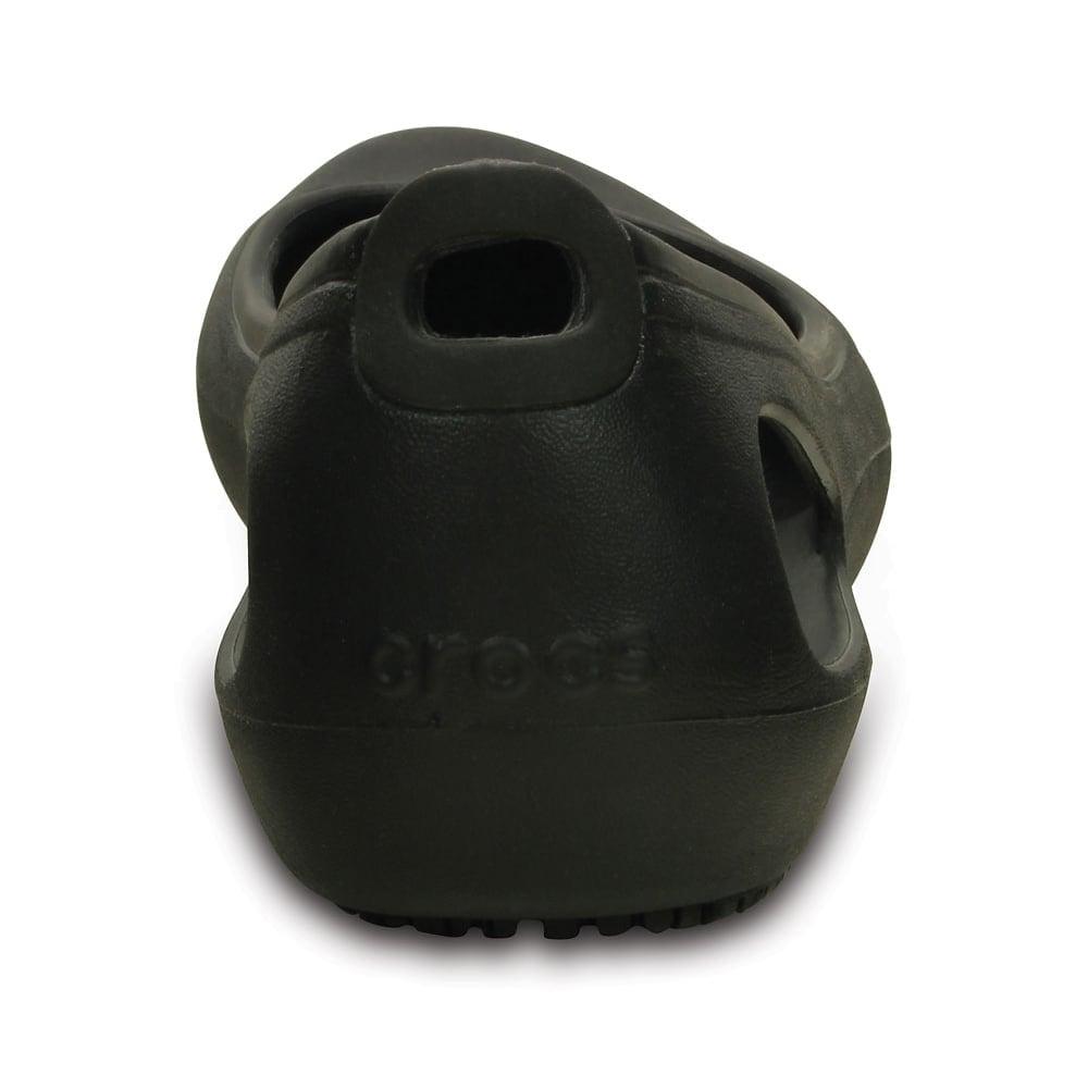 dbc98ce1abaf5e Crocs Kadee Work Flat Black