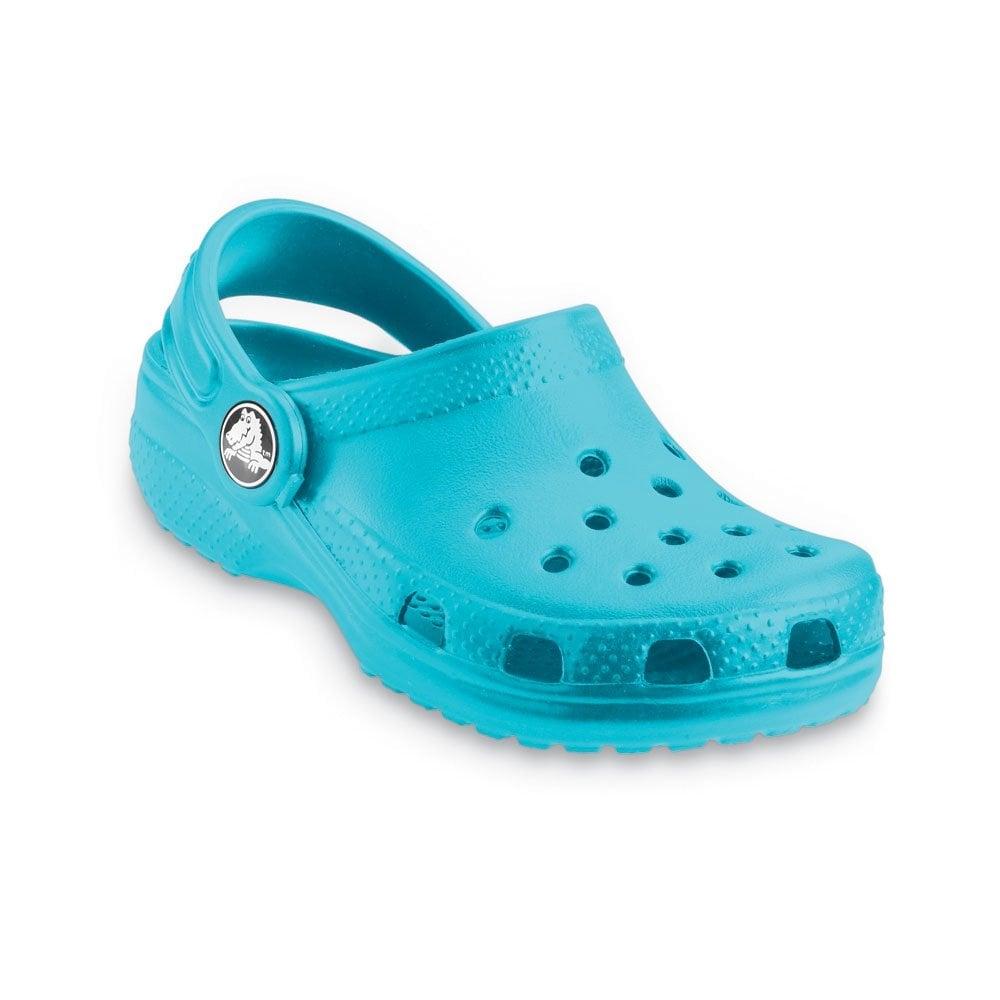 44eb2473a Crocs Kids Classic Shoe Aqua