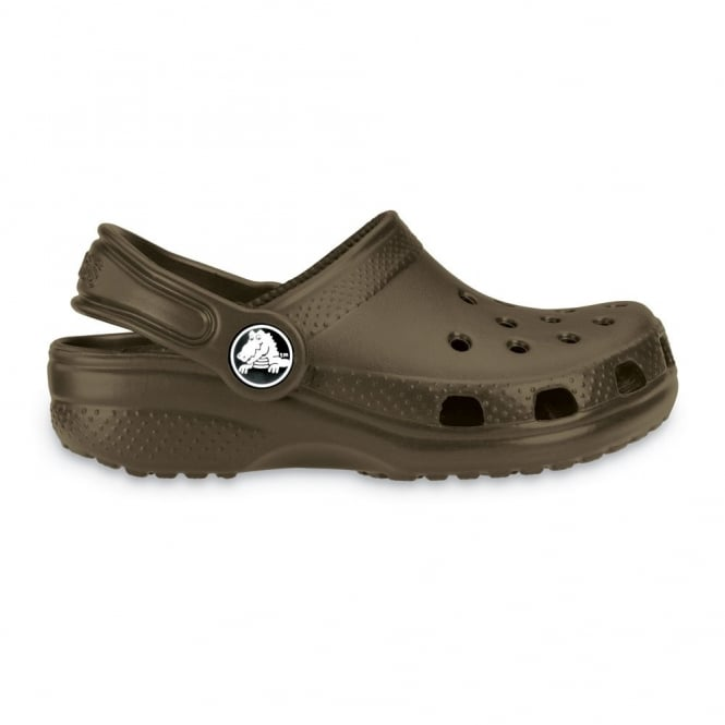 Crocs Kids Classic Shoe Chocolate, The original kids Croc shoe