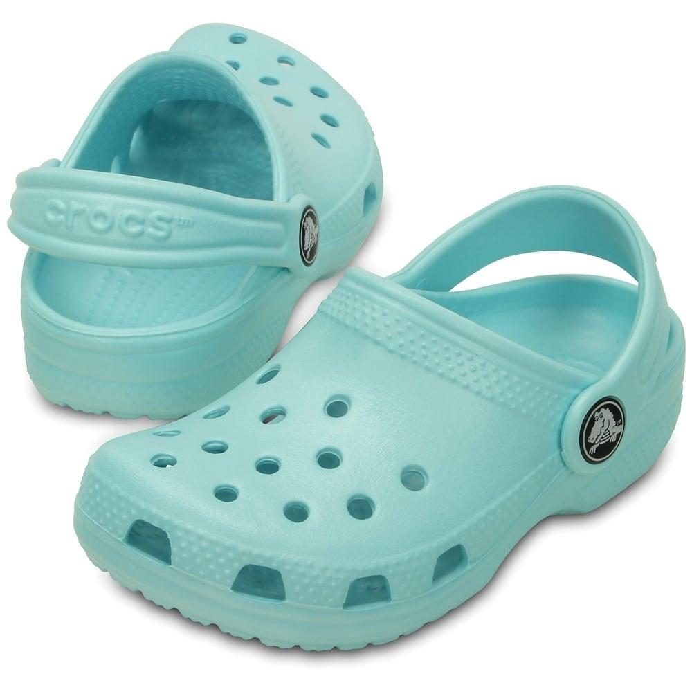 Crocs Cool Blue Clog Shoes