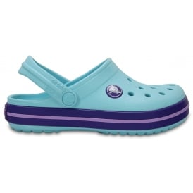Kids Crocband Clog (SS) Ice Blue