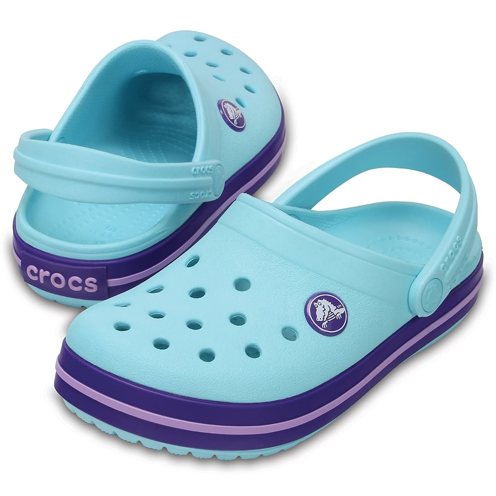 a5b12c3bfd Crocs Kids Crocband Clog (SS) Ice Blue - Kids from Jellyegg UK
