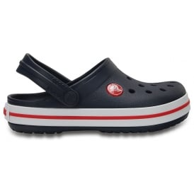 425ecbb36 Kids Crocband Clog (SS) Navy Red