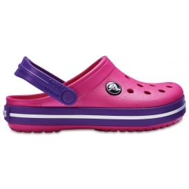 Kids Crocband Clog (SS) Paradise Pink/Amethyst